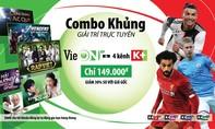 """Đăng ký gói """"VieON VIP và 4 kênh K+"""" xem bóng đá đỉnh cao"""