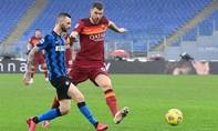 Clip trân Inter hòa AS Roma