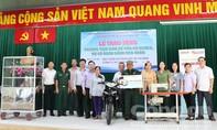 Trao sinh kế cho 7 gia đình tại huyện Củ Chi