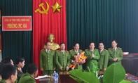 Khen thưởng các đơn vị tại Thừa Thiên Huế phá án xuất sắc