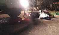 Xe tải tông xe máy trên quốc lộ, 2 người tử vong