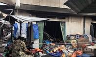 Cháy nhiều ki ốt trong chợ Bình Triệu ở Sài Gòn