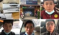 Bốn anh em ruột cướp hàng loạt, chiếm đoạt 30 điện thoại và 6 xe máy