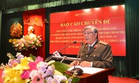 Cố Bộ trưởng Trần Quốc Hoàn đã để lại một hệ thống lý luận khoa học Công an vô cùng quý giá