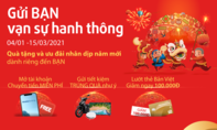"""Chương trình khuyến mại """"Gửi BẠN vạn sự hanh thông"""" hấp dẫn từ Bản Việt"""