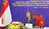 Việt Nam - Singapore thúc đẩy hợp tác quốc tế trong lĩnh vực an ninh mạng