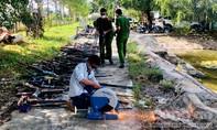 Gia Lai: Tiêu hủy hàng trăm khẩu súng tự chế