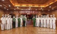 Công an TPHCM báo công dâng Bác nhân ngày truyền thống Cảnh sát PCCC