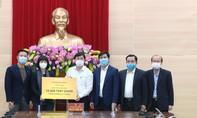 Quảng Ninh tiếp nhận 10.000 test xét nghiệm Covid-19 từ Sun Group