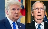 Trump công kích lãnh đạo cấp cao đảng Cộng hoà Mitch McConnell
