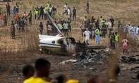 Máy bay của không quân Nigeria rơi khiến 7 người chết