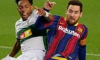 Clip Messi ghi cú đúp, Barca bám sát Real