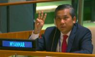 Đại sứ Myanmar tại LHQ kêu gọi cộng đồng quốc tế tẩy chay đảo chính