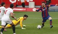 Clip Messi ghi bàn, giúp Barca áp sát đầu bảng La Liga