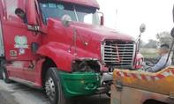 Công nhân môi trường bị xe container tông tử vong khi đang hốt rác