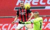 Ibrahimovic ghi bàn đẳng cấp, giúp Milan thắng đậm