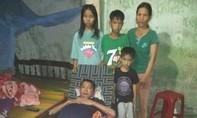 Xin giúp người vợ nghèo chăm chồng bại liệt và 3 con thơ!