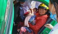 Tài xế giúp sản phụ đỡ đẻ ngay trên xe taxi