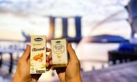 Sữa tươi chứa tổ yến của Vinamilk xuất ngoại sang Singapore