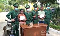 Bắt đôi nam nữ vận chuyển 1kg ma túy đá tại khu vực biên giới