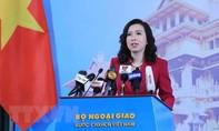 Việt Nam lên tiếng về việc nhiều tàu Trung Quốc hoạt động tại Bãi Ba Đầu