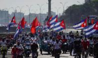 Người dân Cuba biểu tình thành đoàn caravan đòi Mỹ dỡ cấm vận thương mại