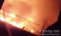 Xe cháy tại bãi giữ phương tiện vi phạm ở TP.Thủ Đức chủ yếu là xe cũ nát