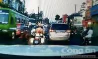 CSGT mở đường cho bệnh nhân tới viện giữa giờ cao điểm ở Sài Gòn