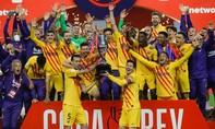 Clip Messi lập cú đúp, Barca đoạt cup Nhà Vua
