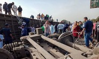 Tai nạn tàu hỏa nghiêm trọng ở Ai Cập, ít nhất 110 người thương vong