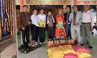 Doanh nhân Nguyễn Hoàng Sang thực hiện hoạt động thiện nguyện