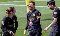 Thắng Villarreal, Barca san bằng điểm số với Real