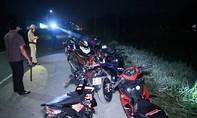 Vây bắt nhóm quái xế ở nhiều tỉnh về Trà Vinh đua xe lúc rạng sáng