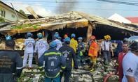Hoả hoạn gây sập nhà ở Bangkok, 5 người chết