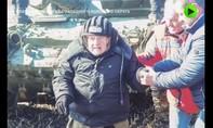 Clip nữ cựu chiến binh Nga 99 tuổi vẫn lái xe tăng hạng nặng