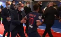 Clip Neymar đòi đánh đối thủ khi nhận thẻ đỏ trong trận PSG thua Lille