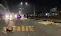 Xe máy tông container tại dốc 47, hai thanh niên tử nạn