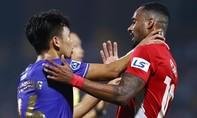 Clip tình huống cầu thủ Viettel và Hà Nội bóp cổ nhau