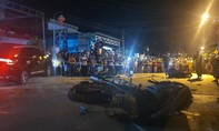 Ô tô tông hàng loạt xe máy, 2 phụ nữ tử vong, 3 người bị thương