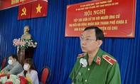 Cử tri rất đồng tình với Chương trình hành động của Thiếu tướng Đinh Thanh Nhàn