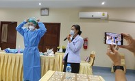 Chuyên gia Y tế Việt Nam cứu thai phụ Lào mắc Covid tổn thương đáy phổi