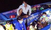 Phát hiện 6 người nhập cảnh từ Campuchia qua sông Tiền trong đêm