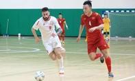 Clip trận lượt đi Việt Nam - Li Băng tranh suất play-off FIFA Futsal World Cup
