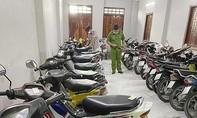 Kiểm tra tiệm cầm đồ, phát hiện 40 xe máy không giấy tờ