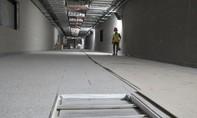 Tầng B1 ga ngầm metro Ba Son hoàn thành sớm dự kiến 31 ngày