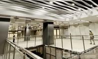 """Ấn tượng với kiến trúc """"lượn sóng"""" của ga ngầm metro Ba Son"""