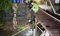 Vụ chợ đầu mối xả thải ra sông Hậu: Bị phạt lần 2 với 370 triệu đồng