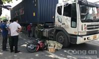 """Tài xế xe ôm công nghệ bị container cán chết trên đường """"tử thần"""" ở Sài Gòn"""