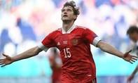 Clip trận Nga thắng sát nút Phần Lan, vươn lên nhì bảng