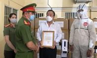 Công an TPHCM nhận hỗ trợ trang thiết bị phòng chống dịch